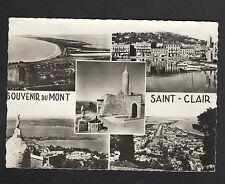 SETE (34) MONT-SAINT-CLAIR. CANAUX .PORT MARITIME en 1950