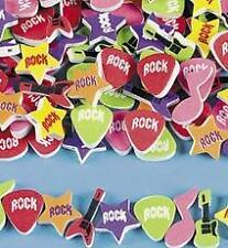 40 Foam Rock Star Beads Guitars Notes Child Kids Craft