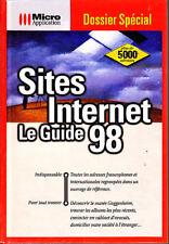 C1 Sthurmann SITES INTERNET Le GUIDE1998 Relie EPUISE