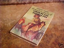 1957 BOOK SPANISH NOVEL HERBERT KRANZ DE LOS ESQUELETOS