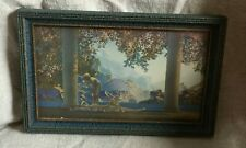 Maxfield Parrish DAYBREAK Original Frame House of Art Label Reinthal & Newman