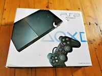 PS2 SLIM CONSOLE SCPH 90002 DISPLAY Box NO CNSLE PLAYSTATION 2 SONY NOT FOR SALE