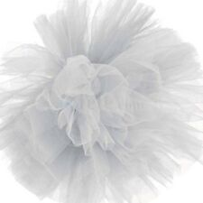 Pompon en tulle blanc 40 cm