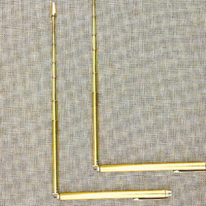 Dowsing Rods Durable Brass Tools Water Detector Measuring Instruments