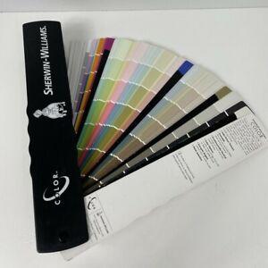 Sherwin Williams COLOR SPECIFIER Paint Color Guide Fan Deck 2001