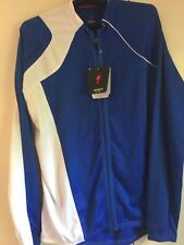 SPECIALIZED Cycling Long Sleeve JERSEY Sz. 2XL  ROYAL BLUE/ White