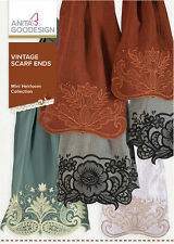 Anita Goodesign Embroidery Machine Design CD VINTAGE SCARF ENDS