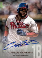 2018 Topps Stadium Club Baseball Autograph Singles (Pick Your Cards)