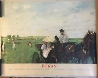 DEGAS - Carriage at the Races  MOMA 36 x 27