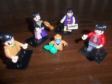 THE BEATLES MINI FIGURES YELLOW SUBMARINE USE WITH PLASTIC BUILDING BLOCKS!