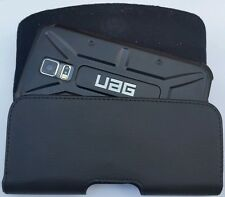 SAMSUNG GALAXY NOTE 3/4/5 BELT CLIP LEATHER HOLSTER FITS A UAG HYBRID CASE ON