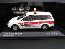 Ford Focus Turnier Ordnungsamt Köln  Minichamps  Limitiert  1:43  OVP  NEU
