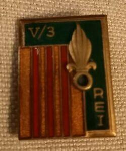 Insigne légion étrangère 5 bataillon 3 REI Drago Olivier Métra déposé