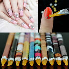 5Pcs 2-Way Nail Art Tips Design Dotting Pen Dot Painting Marbleizing Paint Tool