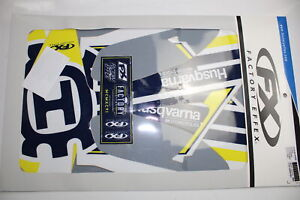 Factory Effex EVO16 Graphics Shrouds Husqvarna TC FC 125 - 450 2019 #22-01640