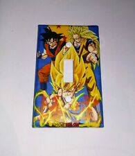 Custom Handmade Dragonball Z Single Toggle Light Switch Cover