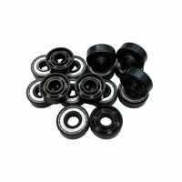 16pcs Ceramic Ball Skate Bearing Wheels 6pin Roller Skate Shoes Kit best T3I8