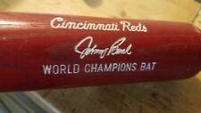 Louisville Hillerich & Bradsby Johnny Bench World Champions Cincinnati Reds Bat