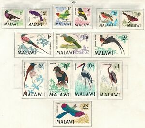 Malawi Scott 95 - 109 in MH condition