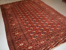 ANTIQUE TEKKE TURKMEN MAIN CARPET, EXCELLENT FURNISHING CARPET, CIRCA 1900.