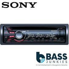 Sony CDX-DAB500U Single Din CD AUX USB MP3 DAB iPhone iPod Android Car Stereo