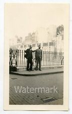 1928 photo men   Tower of  England UK   FF55