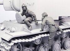 Tahk Tank 1:35 Soviet Tank Crew KV-1 2 Summer 41-42 2 Resin Figures Kit #T35093