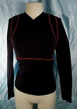 Nice ZOOT SPORTS Black Long Sleeve Triathlon Cycling Bra Top Jersey Sz S