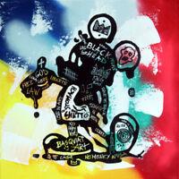 MICKEY basquiat TABLEAU pop street art graffiti PyB painting canvas sign french