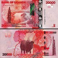 UGANDA 20000 20,000 SHILLINGS 2013 UNC P.53