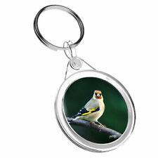 1 X Goldfinch Bird Watch Twitcher - Keyring IR02 Mum Dad Birthday Gift #16219