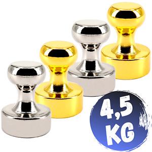 Neodym Magnete Für Magnettafel Pinnwand Kegel Magnet 12mm 4,5KG Stark Whiteboard