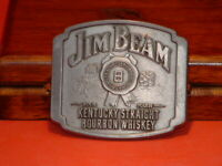 Pre-Owned Jim Beam Kentucky Straight Bourbon Whiskey Belt Buckle