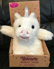 Unicorn - Microwavable - Wheat Pack - With Lavender - White - Brand New