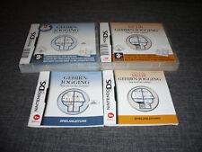 Dr. Kawashimas Gehirnjogging + Mehr 1 + 2 1-2 Nintendo DS DSI XL DS Lite