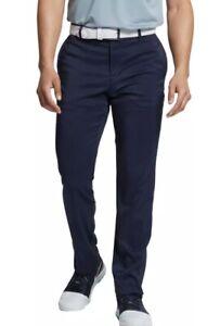 Nike Mens Flex Slim Fit 5 Pocket Golf Pants Dri-fit 30x32 Bv0278- Navy 85.00