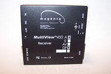 Magenta MultiView 450 DPA RECEIVER Dual Port Daisy Chain Video + Audio • NEW