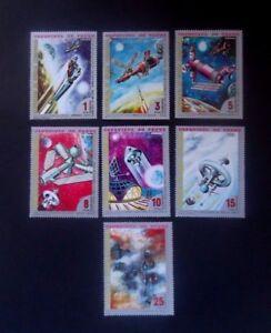 Equatorial Guinea-1973-Astronauts/Space/Venus-Full set-MNH