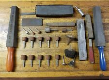 VINTAGE Tools Sharpening Stones Whetstone Oilstone Waterstone Abrasives ☆USA