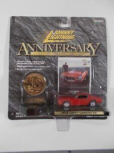 Johnny Lightning 1/64 30th Anniversary 1970 Chevy Camaro RS
