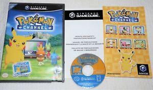 Pokemon Channel  (Nintendo GameCube, 2003) complete w/manual NEAR MINT