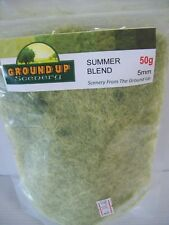 GROUND UP SCENERY STATIC GRASS SUMMER BLEND 5mm 50g