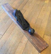 "Antique 1902 Stanley No. 33 Wood Base Hand Plane 28"" Long"