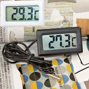 Digital Fridge Embedded Thermometer Refrigerator Freezer Temperature Measur new