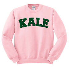 Kale Sweatshirt Vegan Vegetarian Birthday Gift Crewneck Pullover University