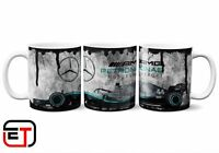 F1 Petronas Lewis Hamilton Distressed Look Mug And Coaster Gift Set