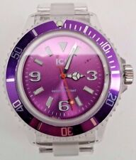 Ice-Watch CL.PE.U.P.09 Women's Classic Collection Purple Dial Clear Quartz Watch