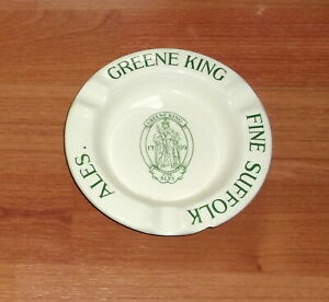 1930's GREENE KING..FINE SUFFOLK ALES..CERAMIC ASHTRAY..MINTONS..A/F.