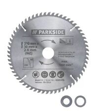 Parkside Circular Saw Blade 210mm (60-tooth blade(WZ))