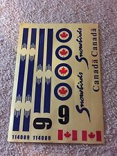 1 Set Canadian Canada Global Hawk Sticker Decorator for RC Airplane TH039-00208